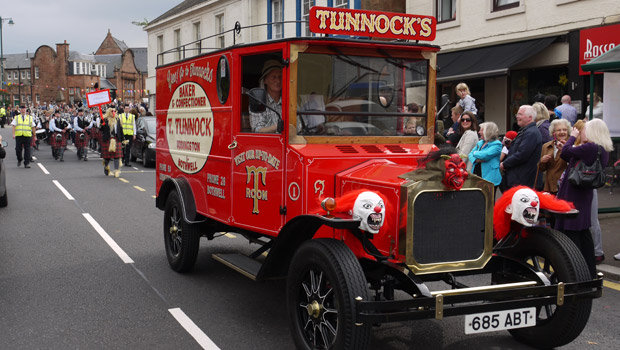 Tunnocks-Lorry